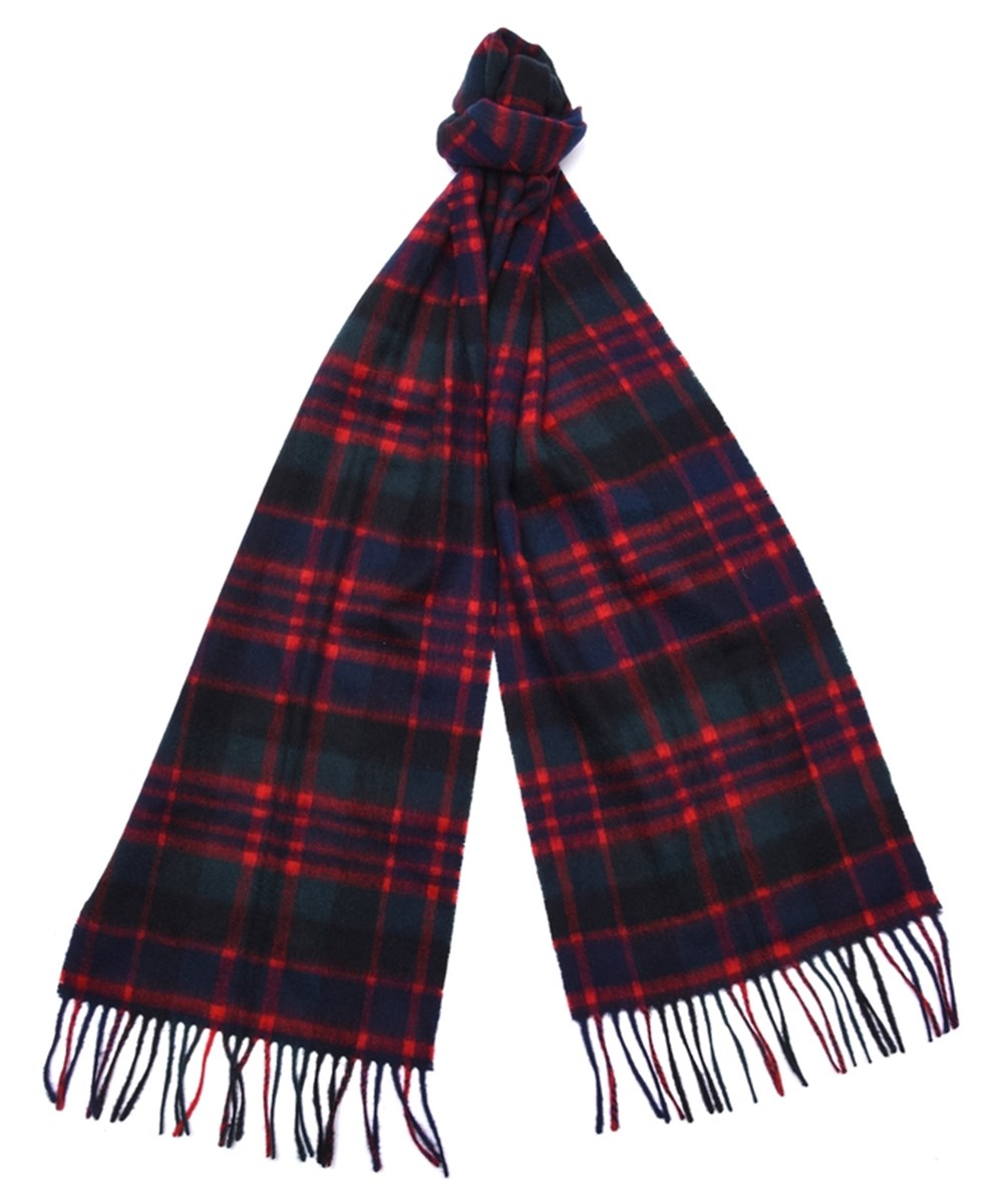 Barbour New Check Tartan Scarf Mc Donald Barbour Lifestyle: From the Winter Tartan collection