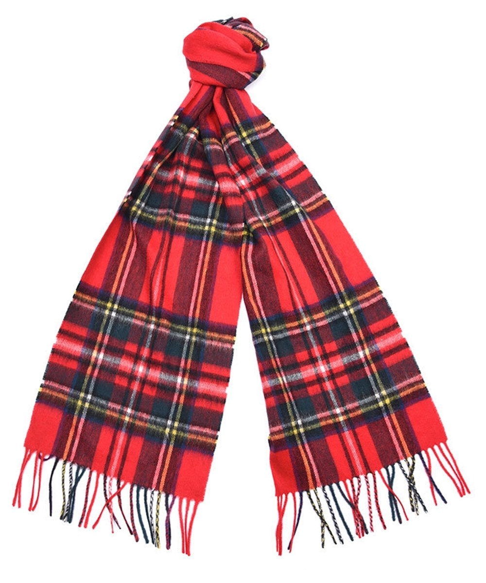Barbour Barbour New Check Tartan Scarf Royal