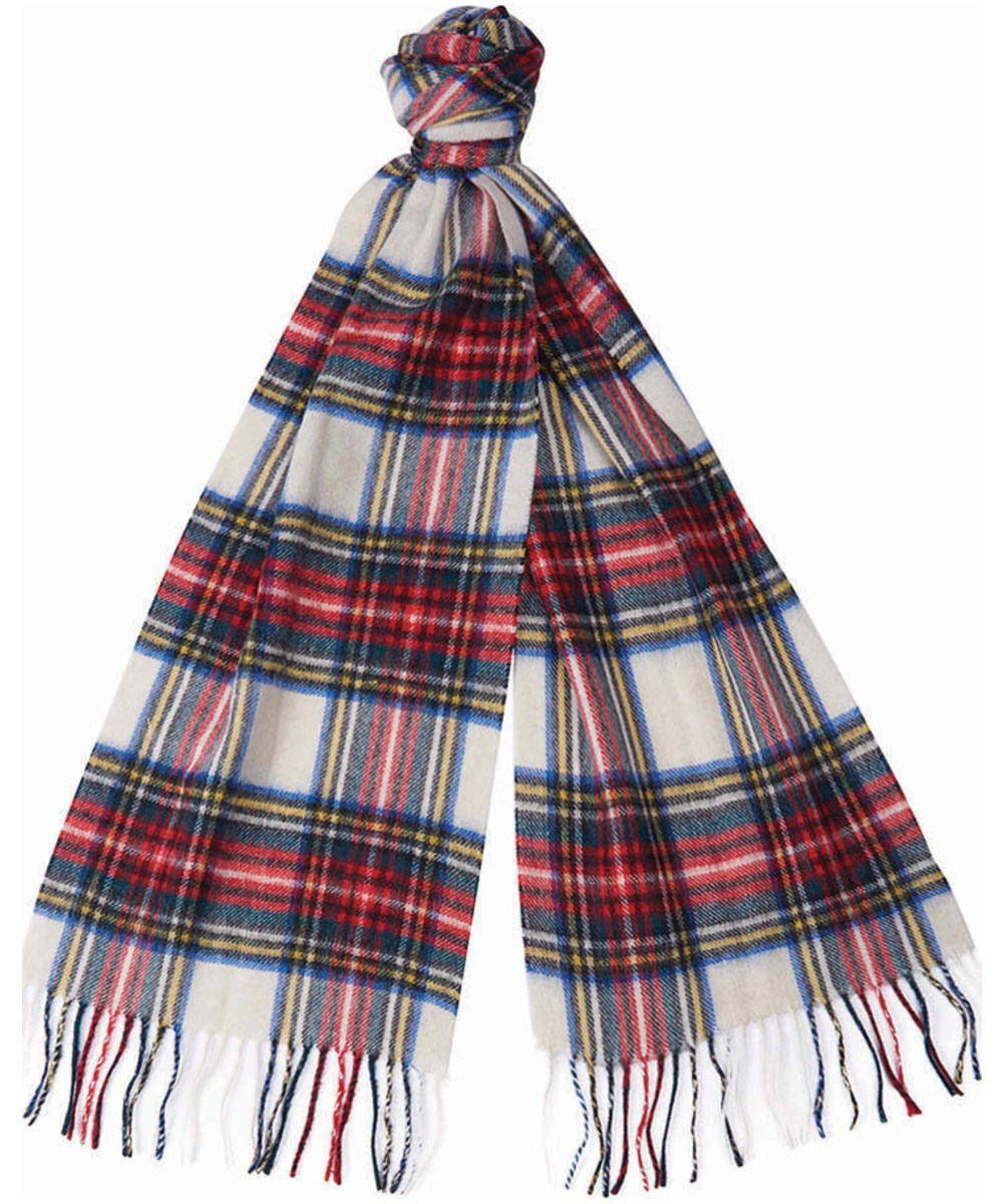 Barbour New Check Tartan Scarf Dress Stewart