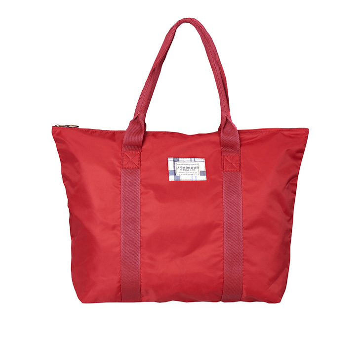 Barbour Barbour Kelty Tote Bag Red