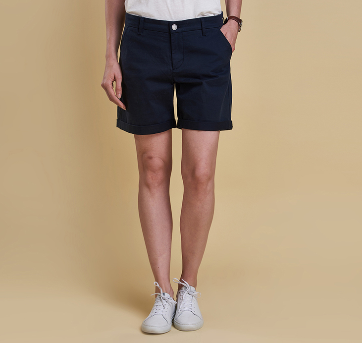 Barbour Essential Shorts Navy