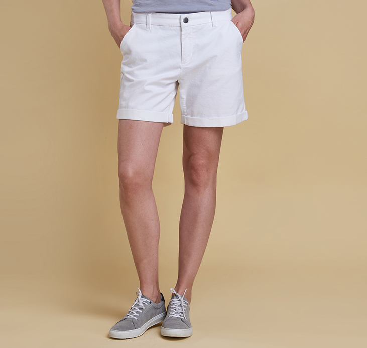 Barbour Essential Shorts White
