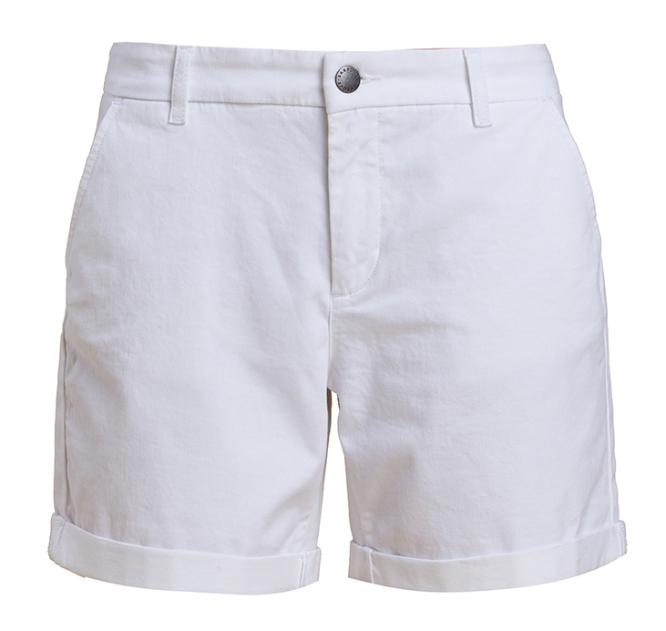 Barbour Essential Shorts White Regular Fit
