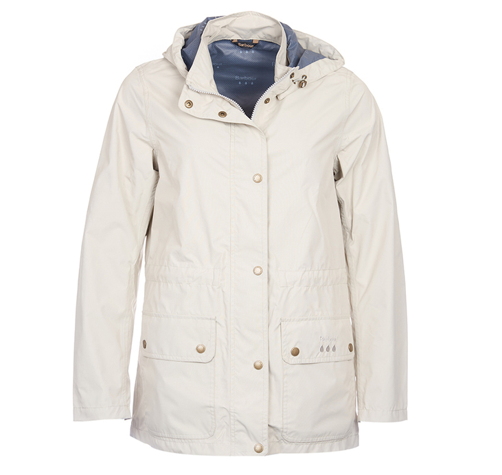 Barbour Cirruss Waterproof Jacket Stone