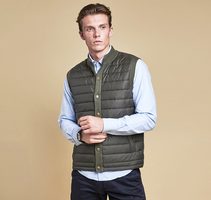 Barbour Essential Gilet Olive