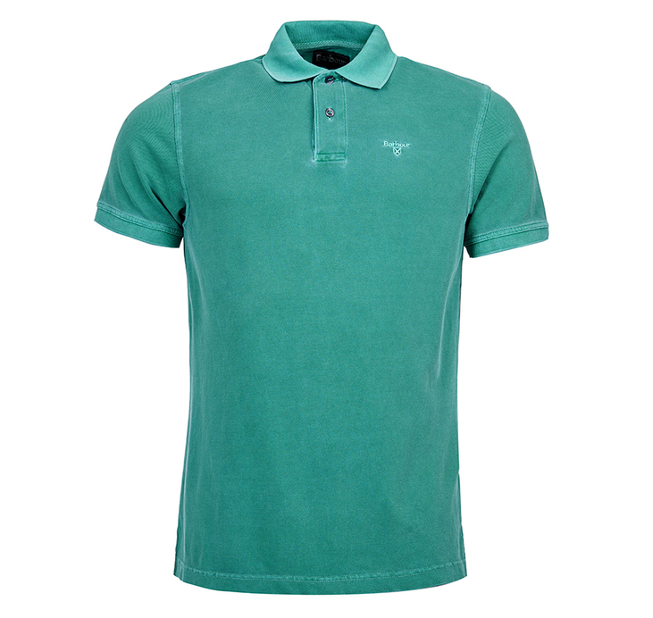 Barbour Barbour Washed Sports Polo Shirt Turf Barbour Lifestyle: From the Core Essentials collection