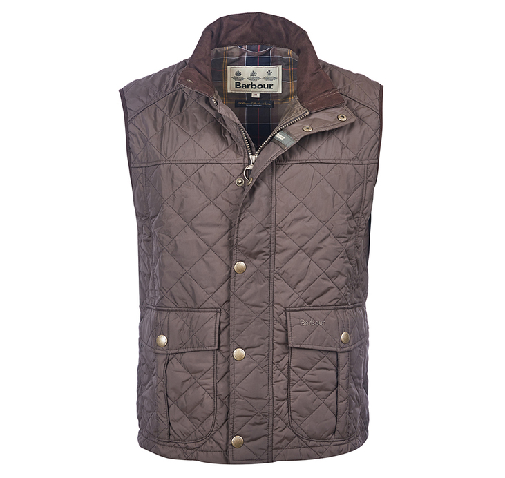 Barbour Explorer Gilet Dark Olive Barbour Sporting: From the Barbour Country collection