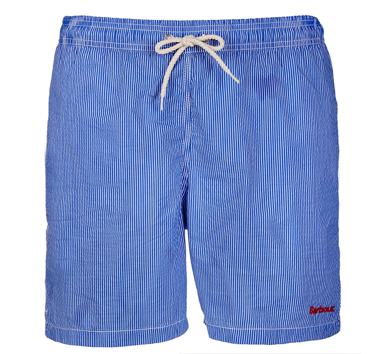 Barbour Barbour Striped Shorts Blue Regular Fit