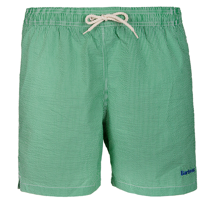 Barbour Barbour Striped Shorts Green Regular Fit