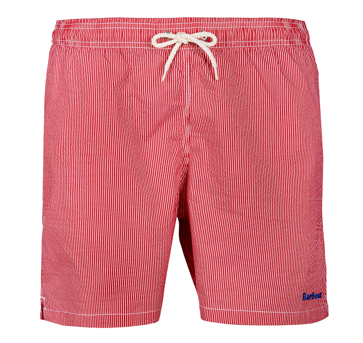 Barbour Striped Shorts Pink Regular Fit