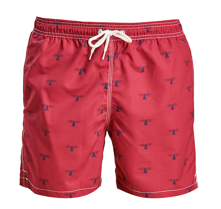 Barbour Barbour Beacon Print Swim Short Tailored Fit