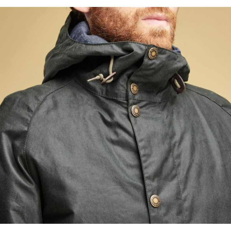 Barbour Nautic Waxed Cotton Jacket Sage