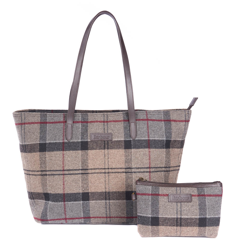 Barbour Barbour Witford Tartan Tote Bag Winter Tartan Barbour Lifestyle: From the Winter Tartan Collection