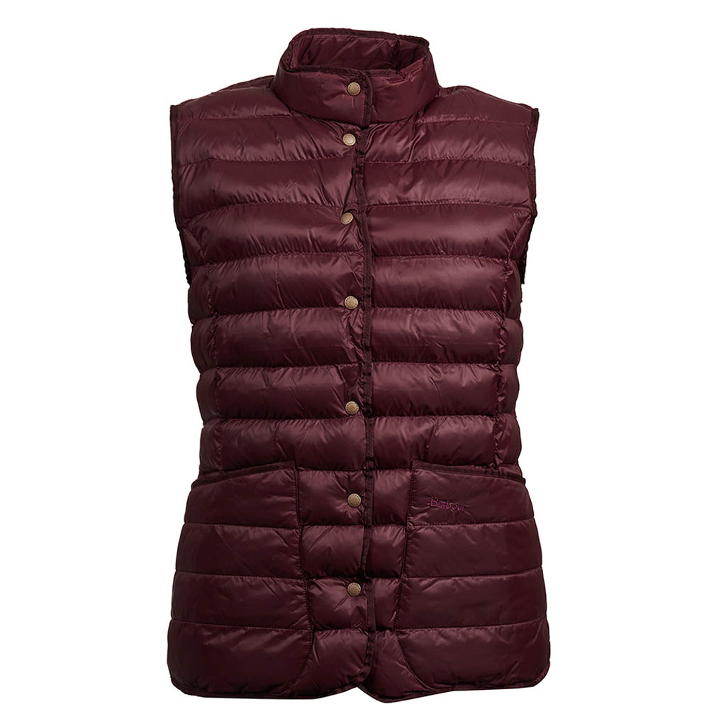 Barbour Carlton Gilet Granate