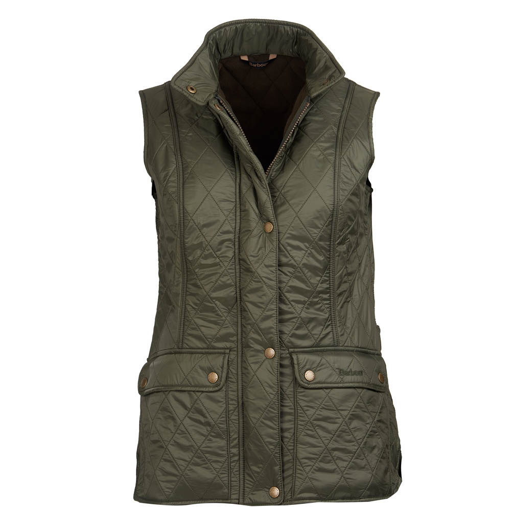 Barbour Wray Gilet Olive Barbour Lifestyle: from the Classic capsule