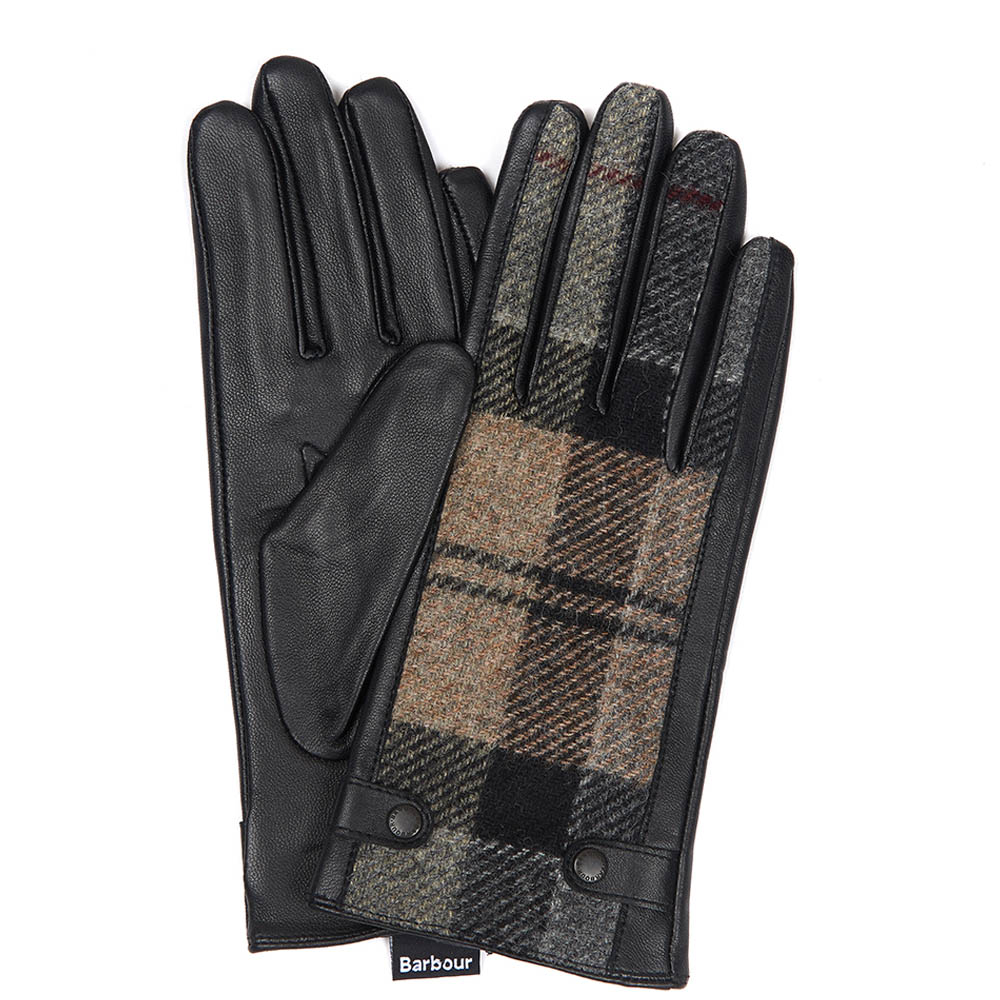 Barbour Galloway Trimmed Leather Gloves Barbour Lifestyle: From the Classic collection