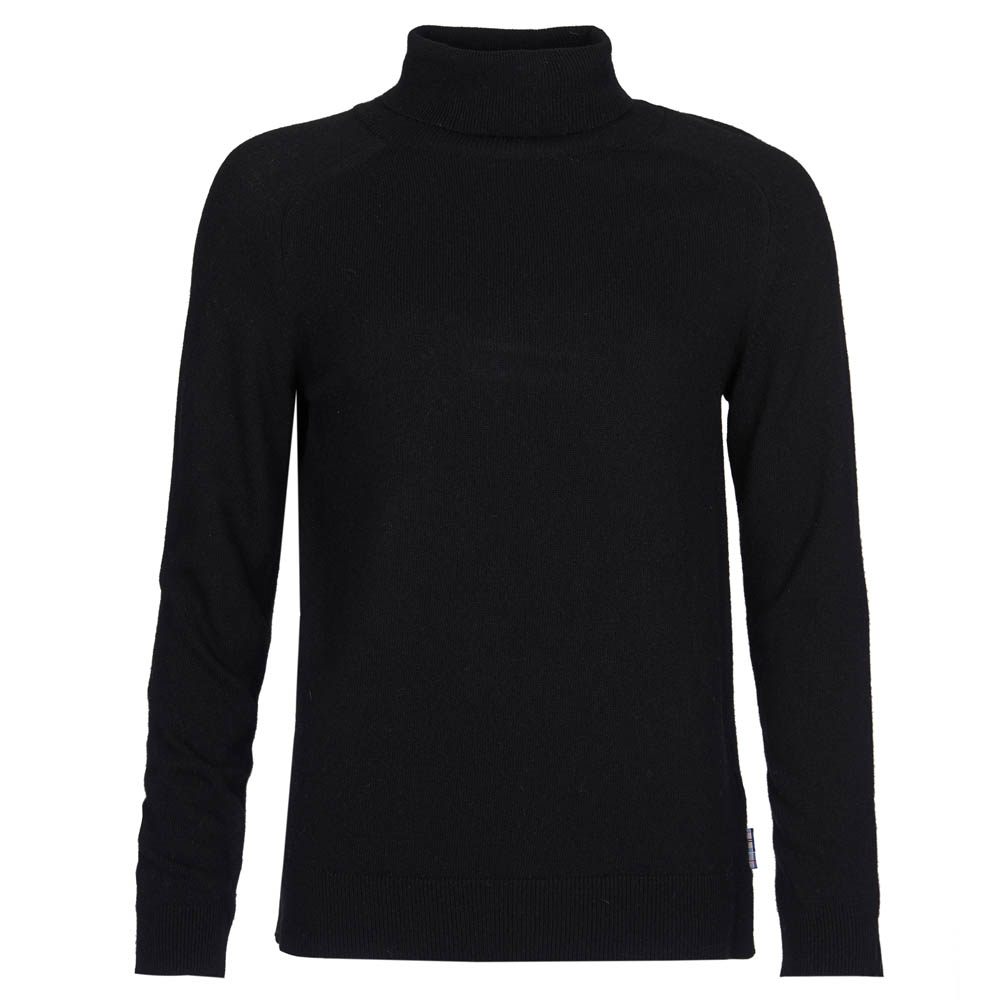 Barbour Pendle Roll Collar Sweater Black