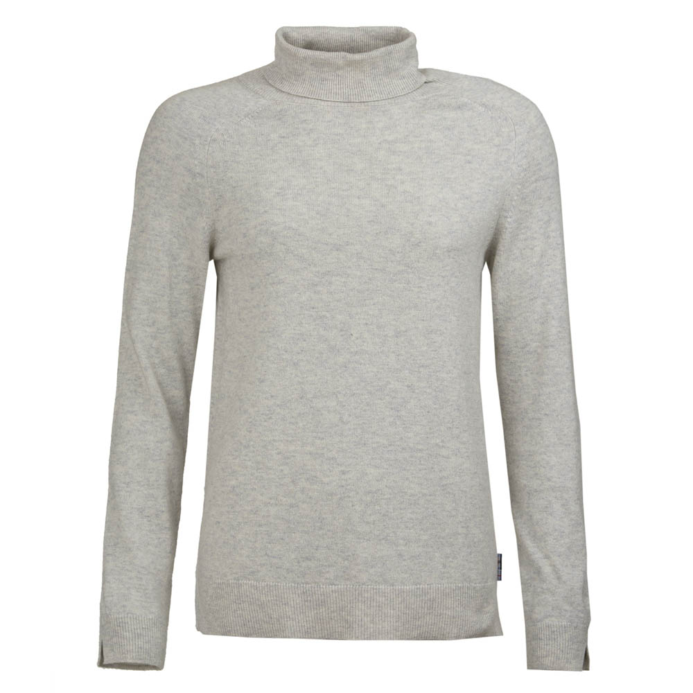 Barbour Barbour Pendle Roll Collar Sweater Grey