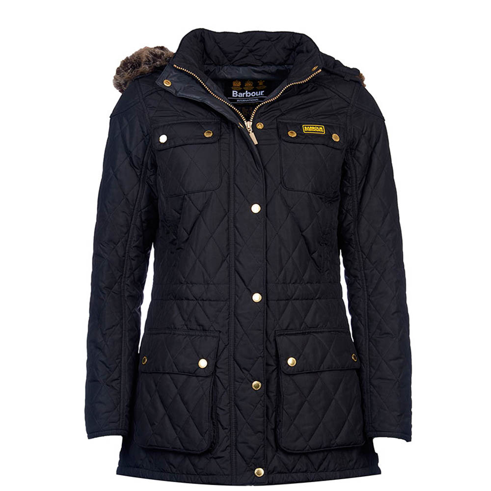 B.Intl Enduro Quilted Jacket Black