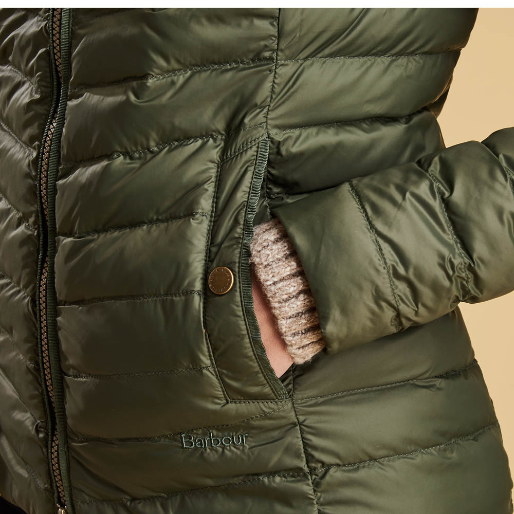 Barbour Highgate Quilted Jacket Olive