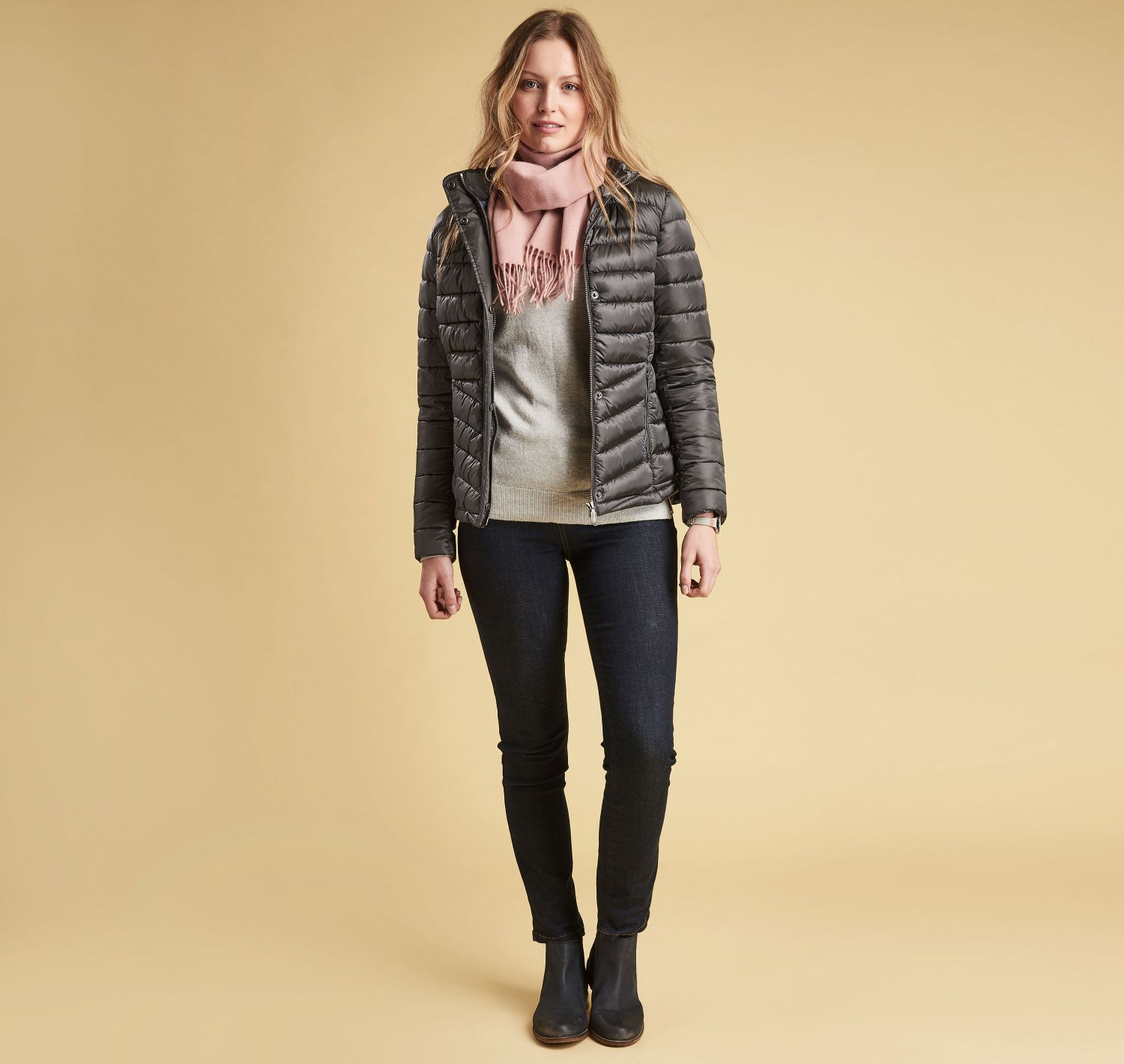 Barbour Barbour Vartersay Quilted Jacket Ash grey Barbour Lifestyle: from the Classic capsule