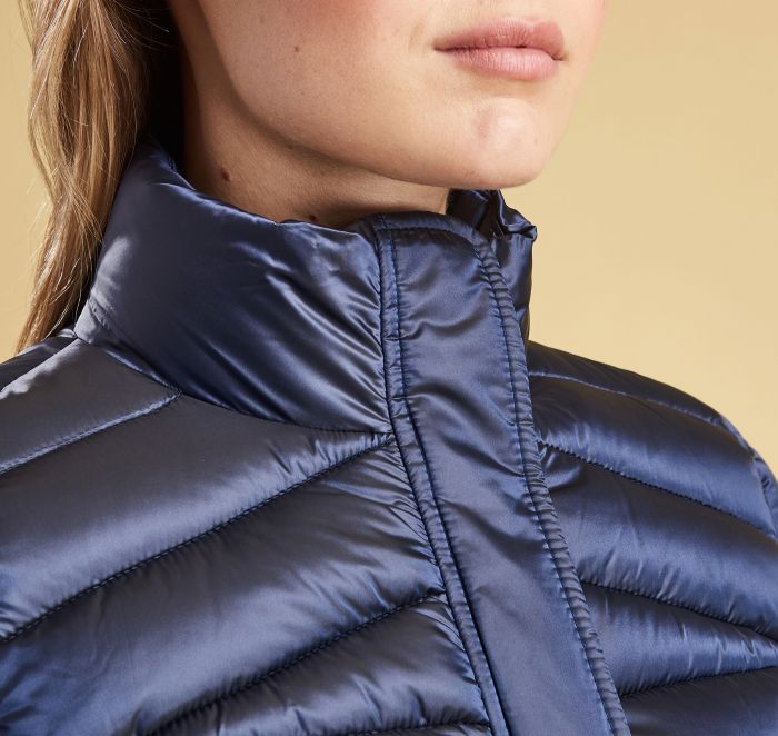 Barbour Vartersay Quilted Jacket Navy Barbour Lifestyle: from the Classic capsule