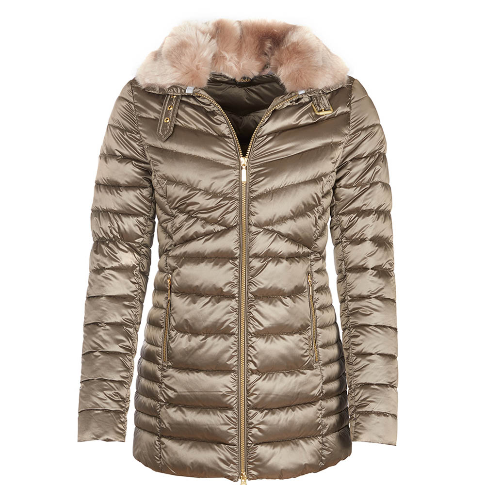 Barbour Barbour Lomond Quilted Jacket Mink