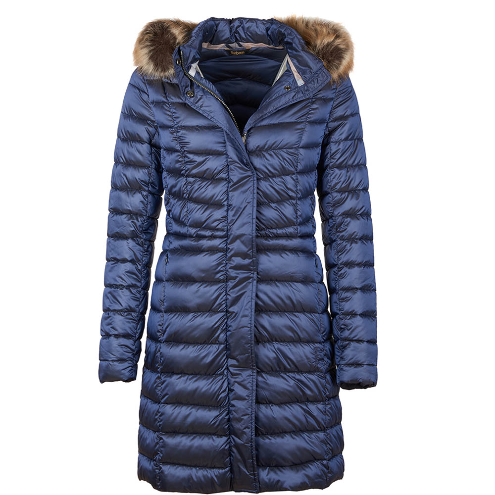 Barbour Berneray Quilted Jacket Navy