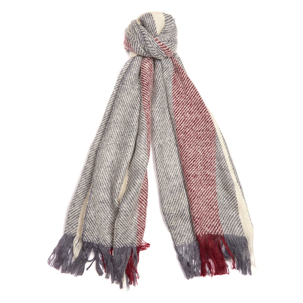 Barbour Barbour Munro Scarf Grey Barbour Lifestyle: From the Winter Tartan collection