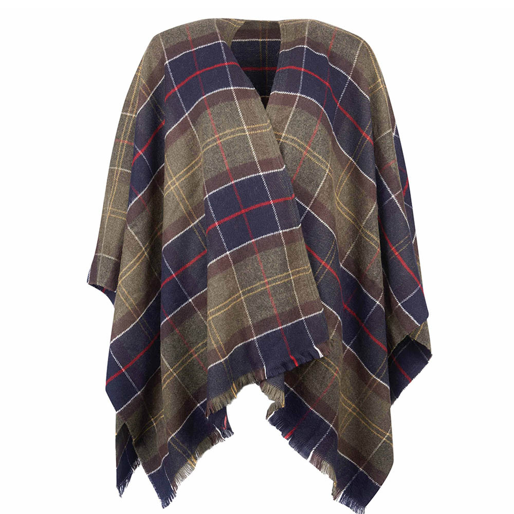 Barbour Staffin Tartan Serape Classic