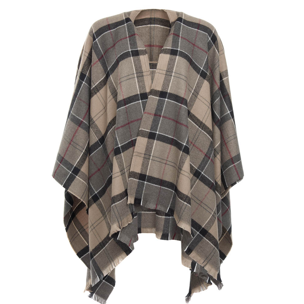 Barbour Staffin Tartan Serape Winter