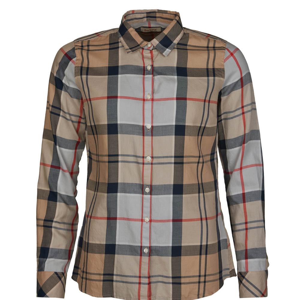 Barbour Bredon Shirt Camel
