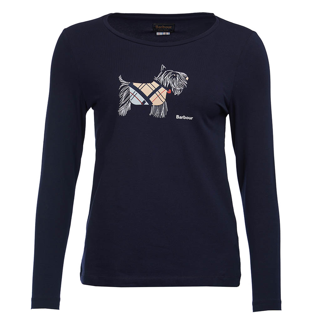 Barbour Galloway L/S Tee Navy