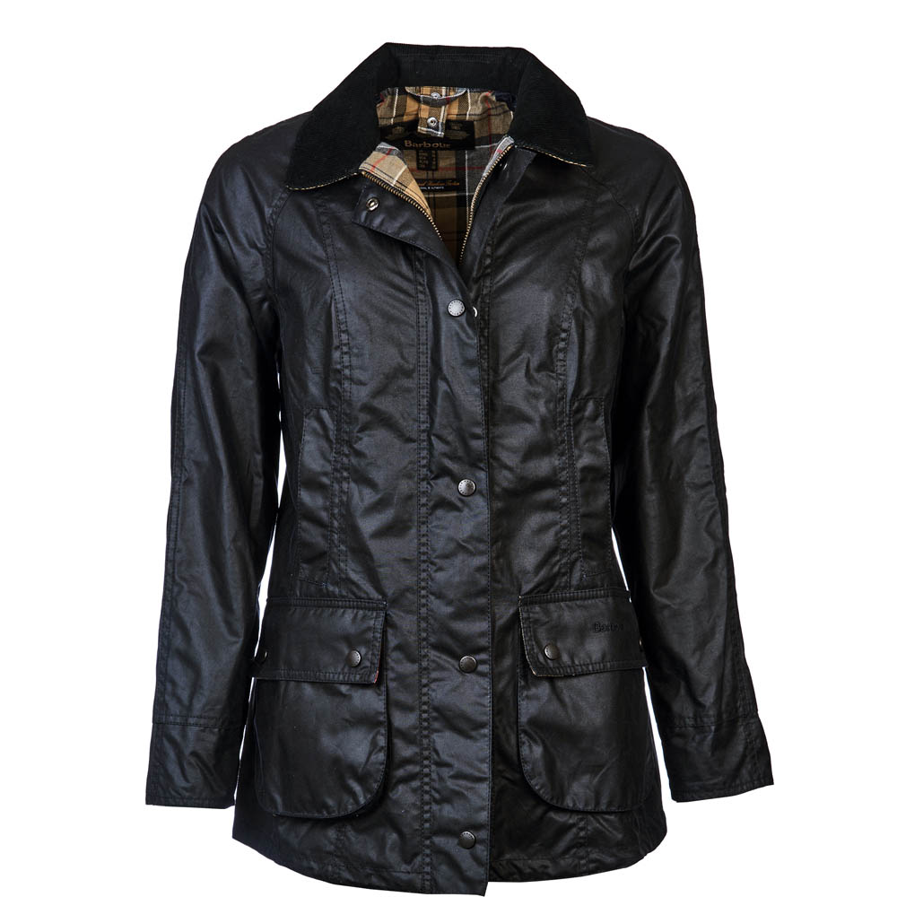 Barbour Classic Beadnell Wax Jacket Navy Barbour Lifestyle: From the Spirit of Adventure collection