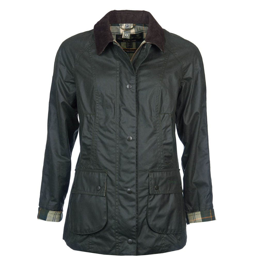 Barbour Classic Beadnell Wax Jacket Sage