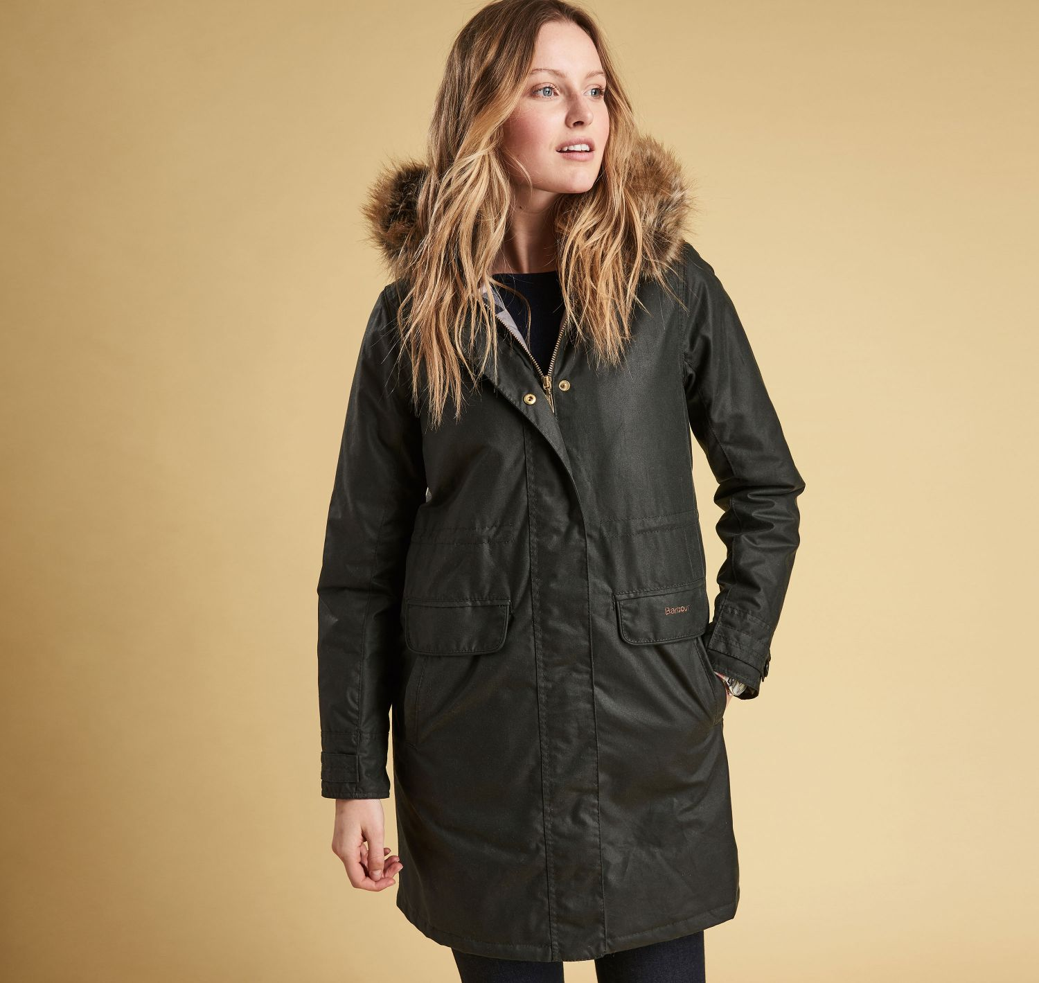 Barbour Galloway Waxed Cotton Jacket