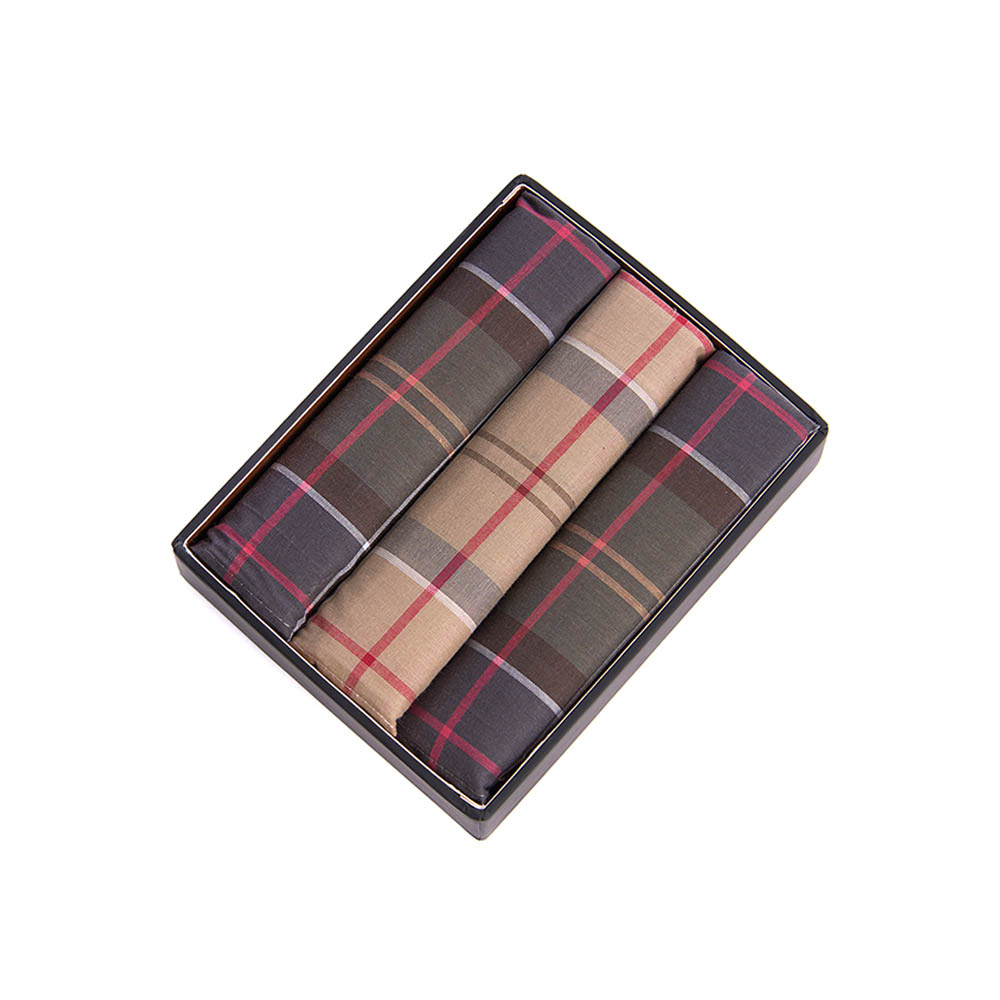Barbour Barbour Tartan Pocket Squares