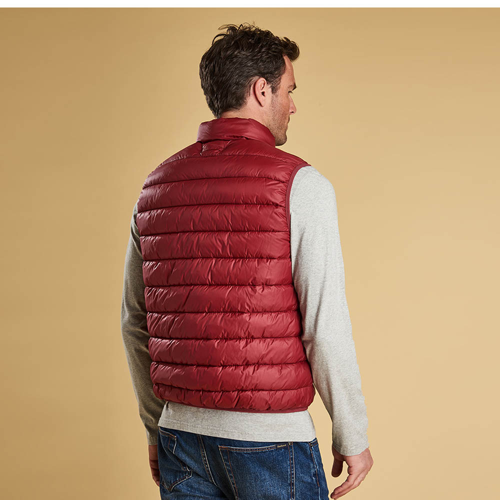 Barbour Bretby Gilet Red
