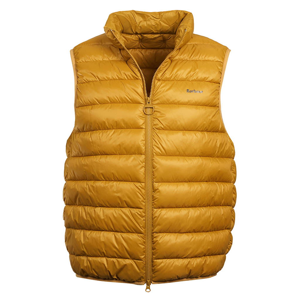 Barbour Bretby Gilet Yellow