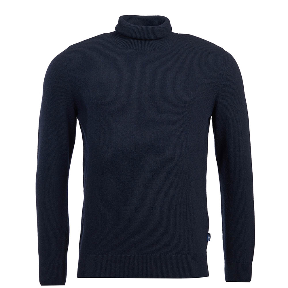 Barbour Leahill Roll Sweater Navy Barbour International
