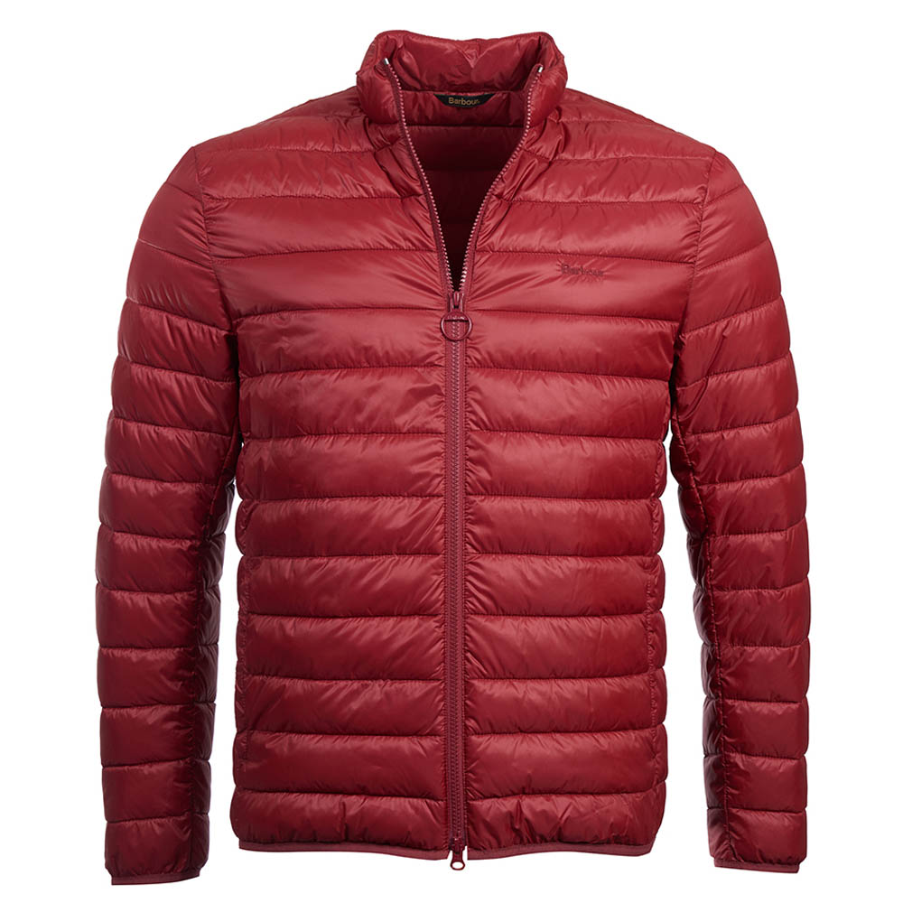 Barbour Penton Quilt Red Barbour Lifestyle Collection: Regular Fit