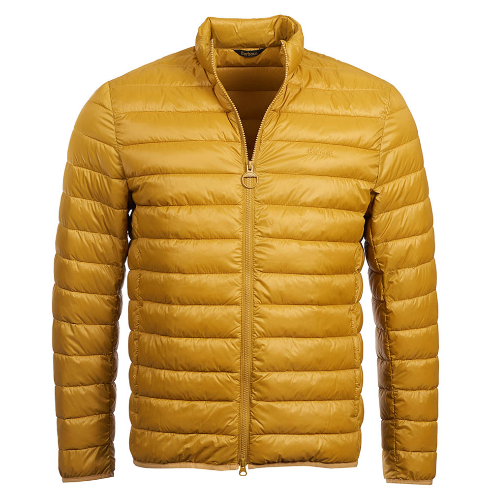 Barbour Penton Quilt Yellow Barbour Lifestyle Collection: Regular Fit