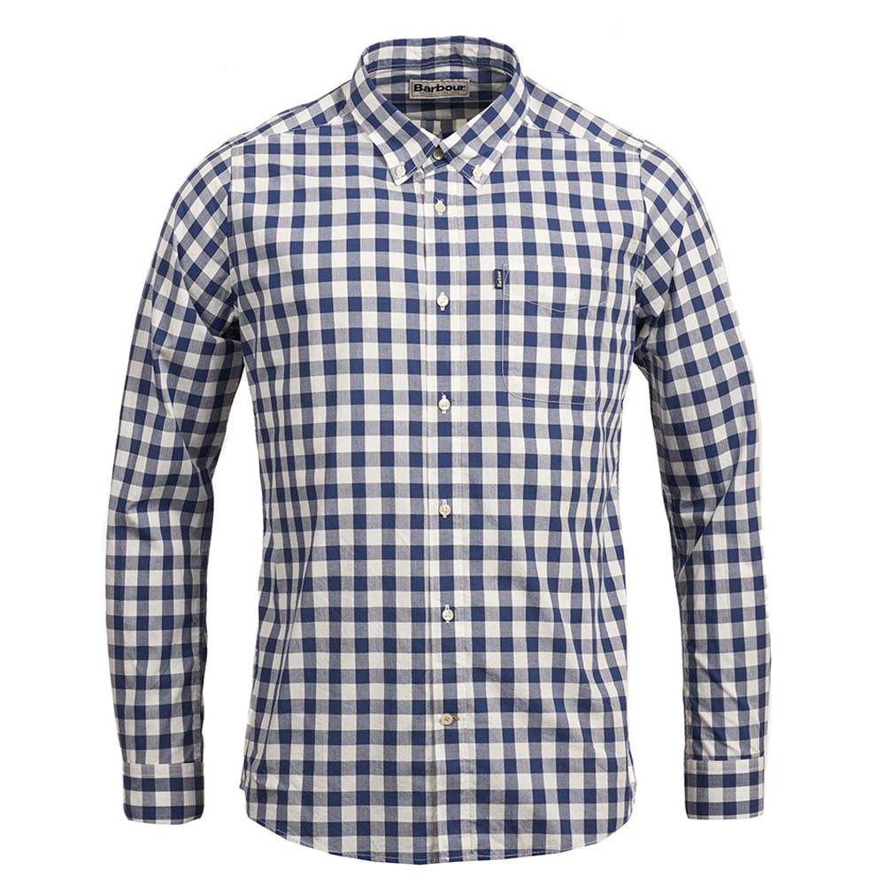Barbour Endsleigh Gingham Tailored Shirt Blue Barbour Lifestyle: From the Core Essentials collection