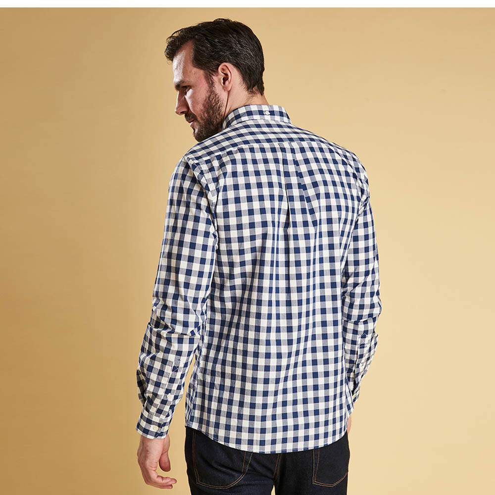 Barbour Endsleigh Gingham Tailored Shirt Blue