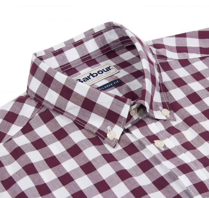 Barbour Endsleigh Gingham Tailored Shirt Port