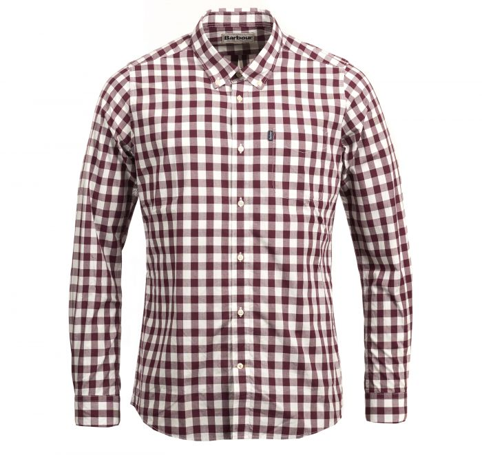 Barbour Endsleigh Gingham Tailored Shirt Port Barbour Lifestyle: From the Core Essentials collection