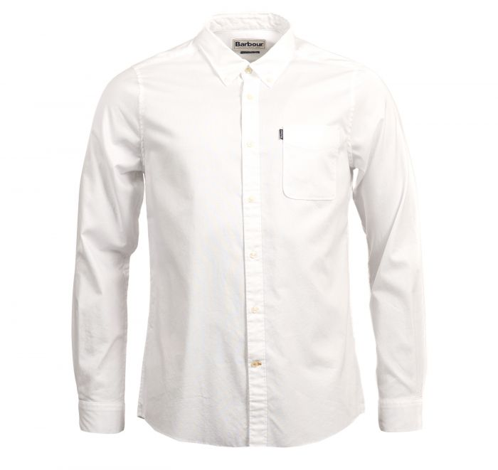 Barbour Endsleigh Oxford Tailored Shirt White Barbour Lifestyle: From the Core Essentials collection
