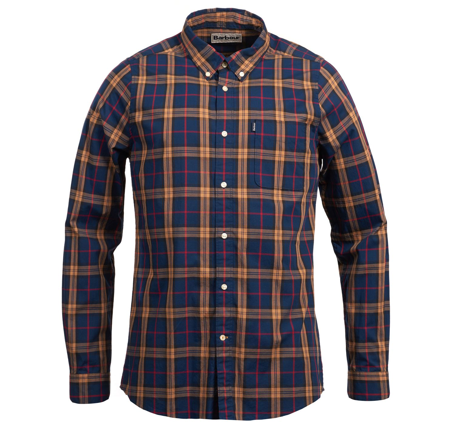 Barbour Endsleigh Highland Check Tailored Shirt Blue
