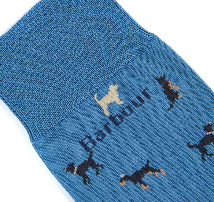 Barbour Mavin Socks Blue
