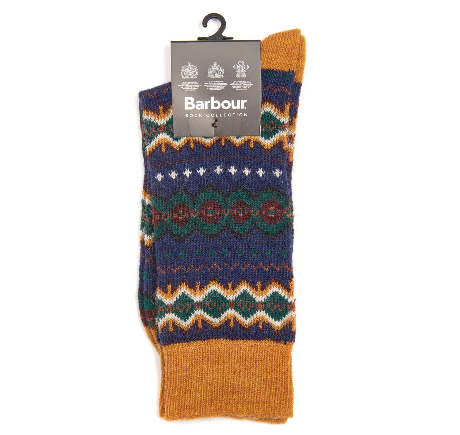 Barbour Barbour Caistown Socks Navy Barbour Lifestyle: From the Core Essentials collection